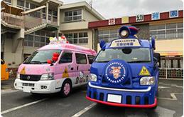 大人気のキティバス
